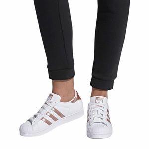 Adidas Superstar Copper Metallic Sneakers